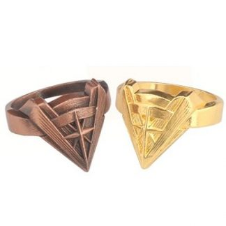 Wonder Woman Chevron Ring -Bronze or Gold
