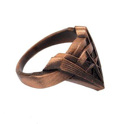 Wonder Woman Chevron Ring - Bronze