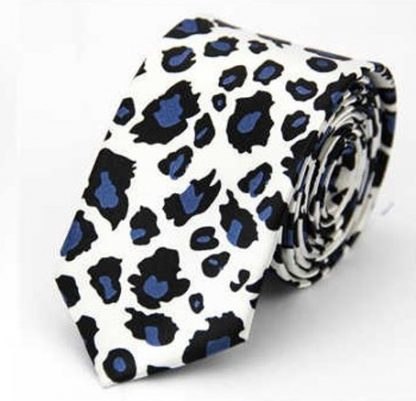 Cheetah Print Tie