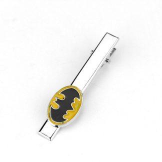 Batman Tie Clip Yellow Logo