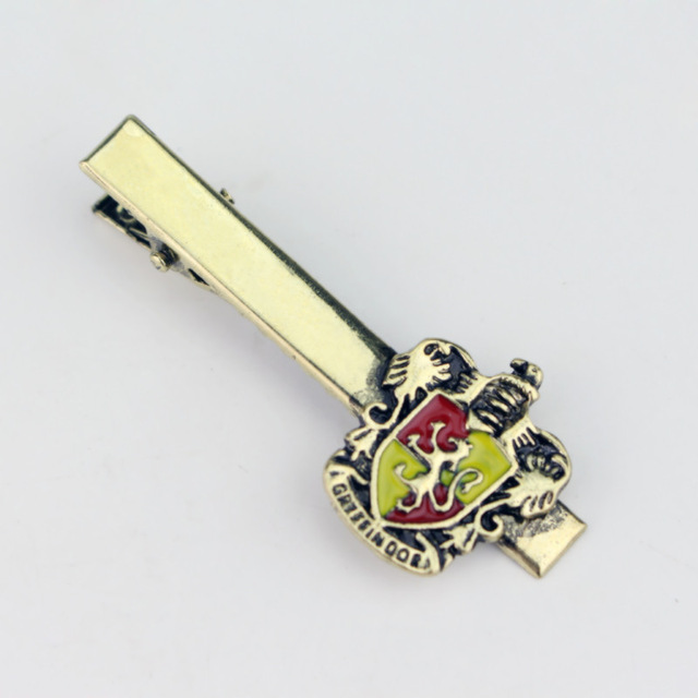 Harry Potter Gryffindor Crest Tie Clip - Gold