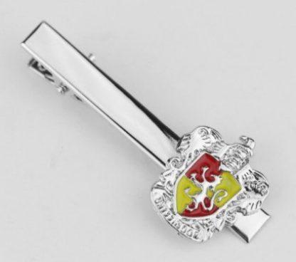 Harry Potter Gryffindor Crest Tie Clip - Silver