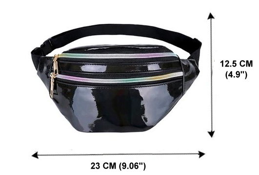 Patent PU Leather Waist Bag / Fanny Pack
