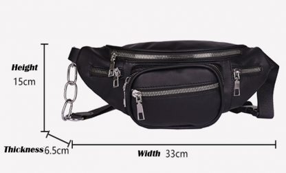Five Compartment Waist Bag / Fanny Pack