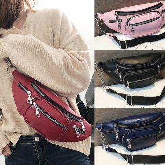 Five Compartment Waist Bag / Fanny Pack