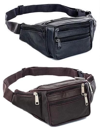 Six Compartment Waist Bag / Fanny Pack