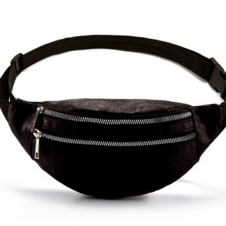 Two Compartment Waist Bag / Fanny Pack