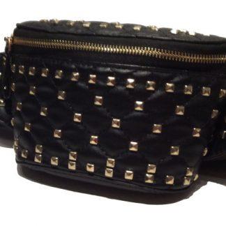 Gold Studded Waist Bag / Fanny Pack