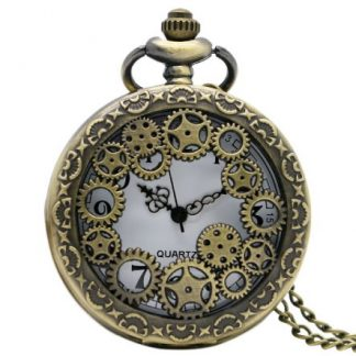 Streampunk Gears Pocket Watch