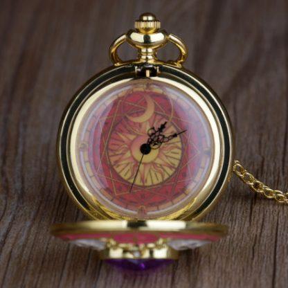Anime Sailor Moon Pocket Watch Face