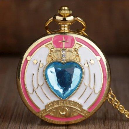Anime Sailor Moon Pocket Watch #3