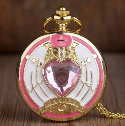 Anime Sailor Moon Pocket Watch #4