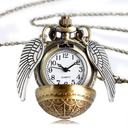 Harry Potter Quidditch Snitch Pendant Watch