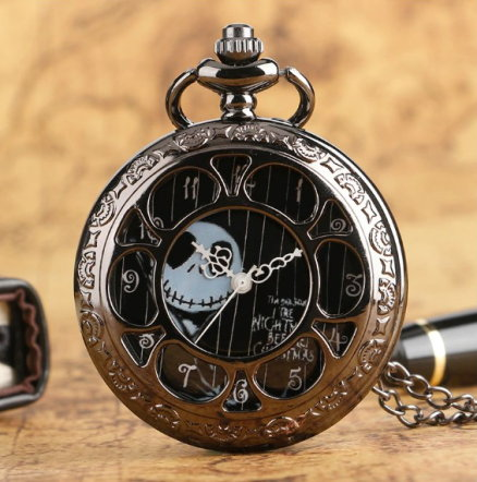 Tim Burton's The Nightare Before Christmas Pocket Watch