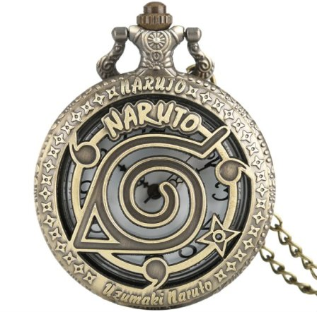 Anime Naruto Pocket Watch #2