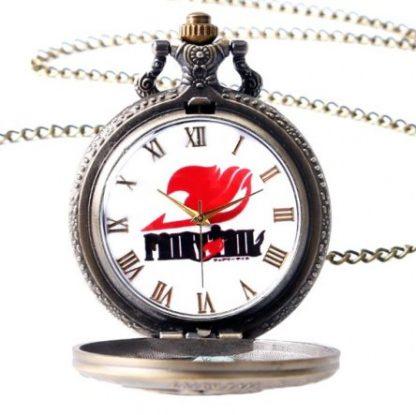 Anime Fairy Tail Natsu Dragneel Pocket Watch