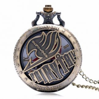 Anime Fairy Tail Natsu Dragneel Pocket Watch