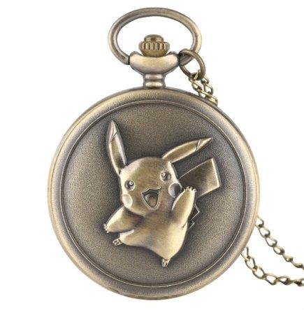 Anime Pokemon Pikachu Pocket Watch
