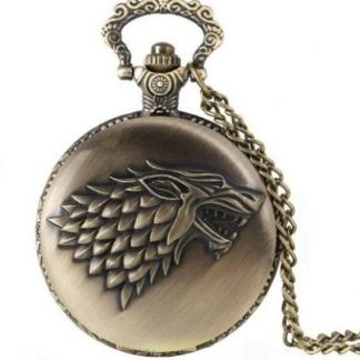 Game of Thrones Stark Family Pocket Watch Antique Bronze