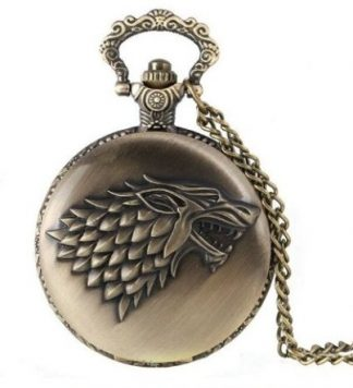 Game of Thrones Stark Family Pocket Watch Antique Bronze