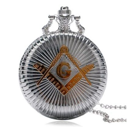 The Mason Temple Pocket Watch