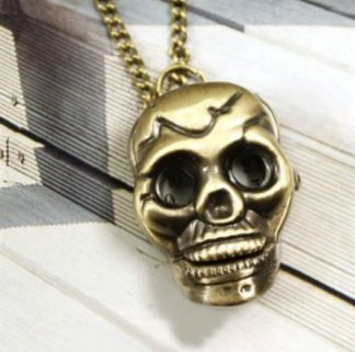 Skull Pendant Watch