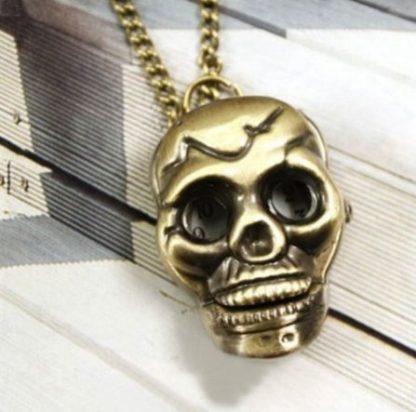 Skull Pendant Watch