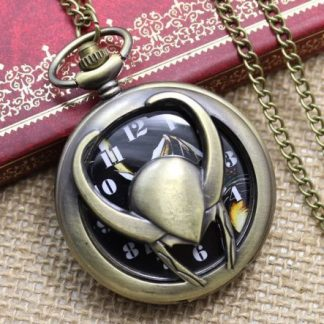 The Avengers Loki Pocket Watch