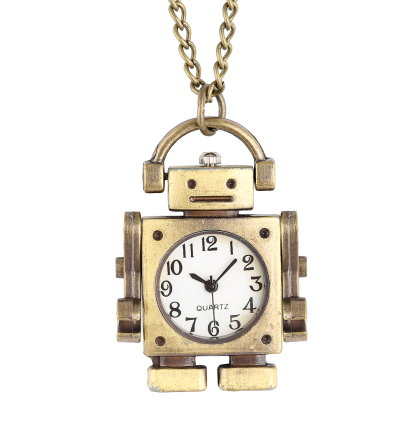 Robot Pendant Watch
