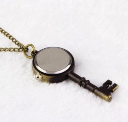 Steampunk Skeleton Key Pendant Watch