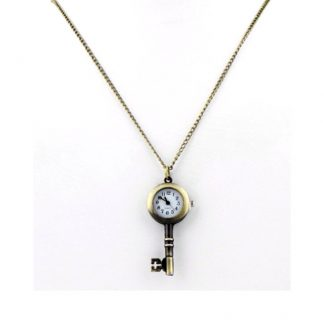 Steampunk Skeleton Key Pendant Watch