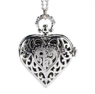Heart Pendant Watch