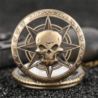 Crossfire Mercenary Corp Pocket Watch