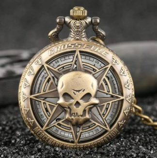 Crossfire Mercenary Corp Pocket Watch