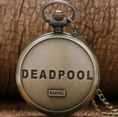 Deadpool Gold Pocket Watch