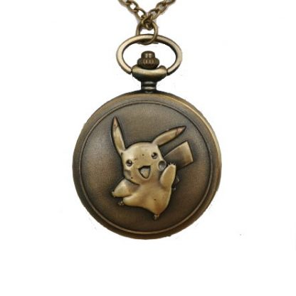 Pokemon Pikachu Mini Pocket Watch