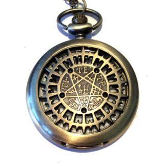 Pentagram Pocket Watch
