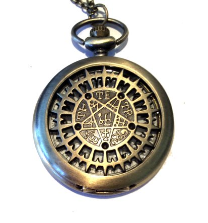 Pentagram Pocket Watch