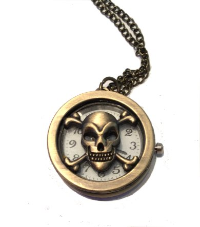 Skull Pendant Watch #2