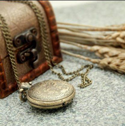 Vintage Crown Mini Pocket Watch
