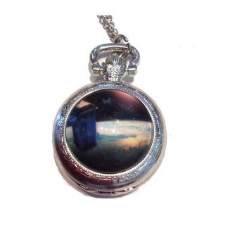 Doctor Who Mini Pocket Watch #4 Silver