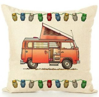 Happy Campers Pillow Cover #21