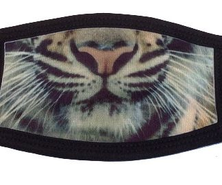 Here Kitty Kitty Tiger Face Mask