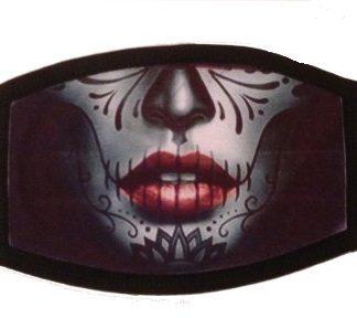 Sugar Skull Face Mask #1