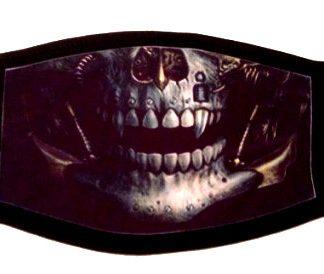 Warrior Skull Face Mask
