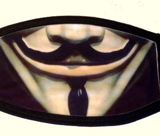 Guy Fawkes Face Mask