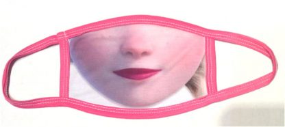 Frozen Elsa Face Mask - Pink