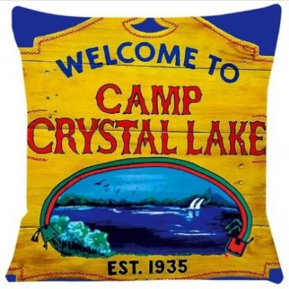 Friday the 13th Camp Crystal Lake Pillow Cover