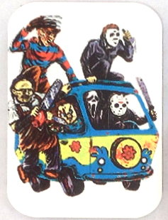 Fridge Magnet #17 - Horror Movie Scooby Gang
