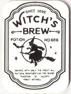 Fridge Magnet #18 - Witches Brew